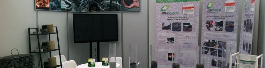 Adec Global promou l'ús d'àrids siderúrgics en Municipalia